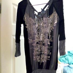 Salvage Dress grey/black small